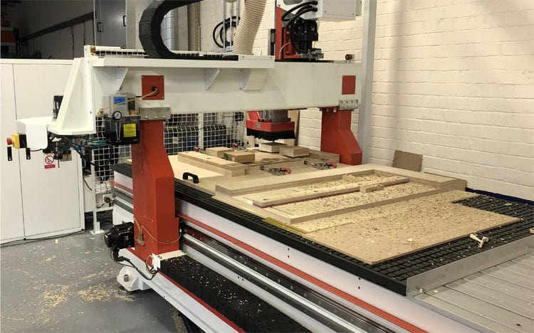 CNC Router Bed